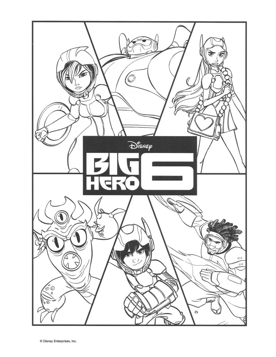 big hero 6 coloring pages hiro - photo #22