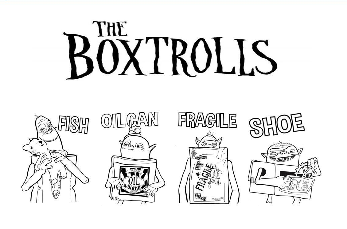 Boxtrolls coloring pages - Coloring Pages For Kids Printable